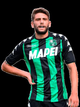 Plantilla del Sassuolo 2019-2020 - Domenico Berardi