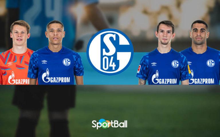 Jugadores y plantilla del Schalke 04 2019-2020