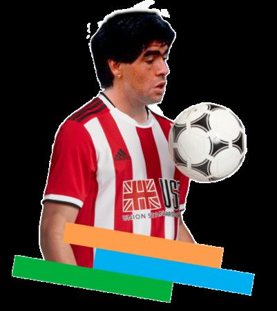 Esta es la historia de los cerca que estuvo Diego Maradona de fichar por el Sheffield United.