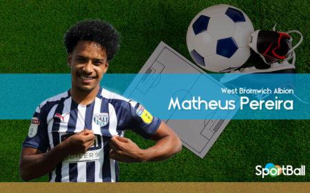 Matheus Pereira es uno de los mejores jugadores de la Championship 2019-2020.
