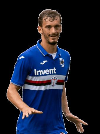 Plantilla de la Sampdoria 2019-2020 - Manolo Gabbiadini