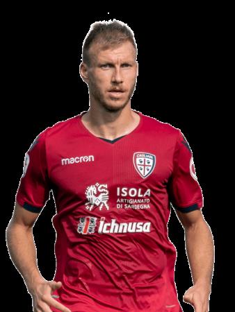 Plantilla del Cagliari 2019-2020 - Ragnar Klavan