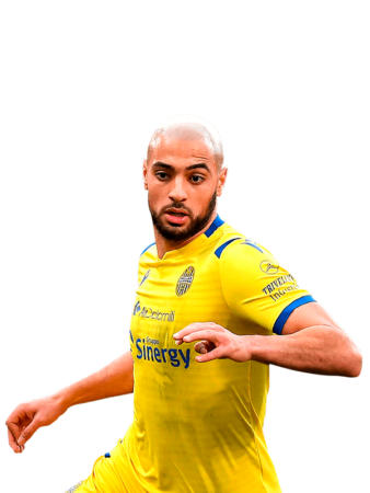 Plantilla del Hellas Verona 2019-2020 - Sofyan Amrabat