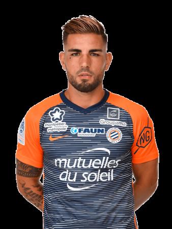 Plantilla del Montpellier 2019-2020 - Andy Delort