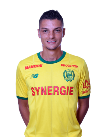 Plantilla del Nantes 2019-2020 - Andrei Girotto