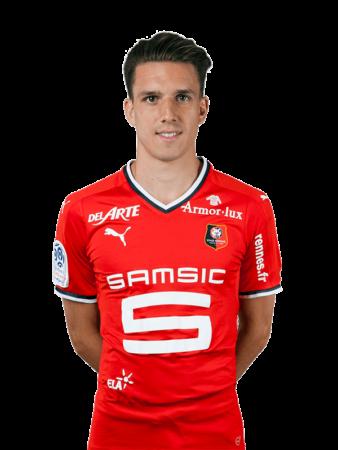 Plantilla del Rennes 2019-2020 - Adrien Hunou