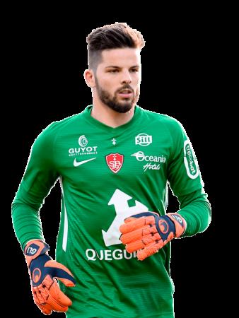 Plantilla del Stade Brestois 2019-2020 - Gautier Larsonneur