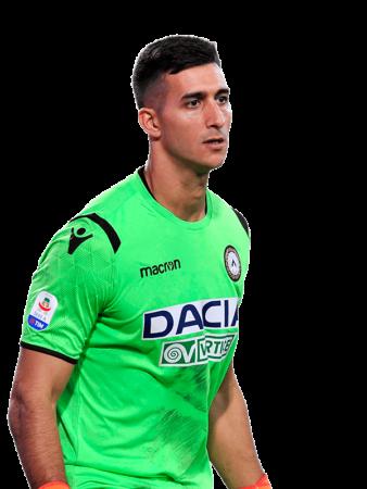 Plantilla del Udinese 2019-2020 - Musso