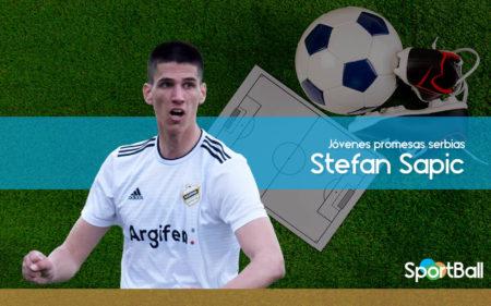 Stefan Sapic es uno de los mejores jugadores jóvenes serbios.