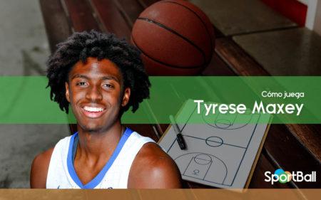 Cómo juega Tyrese Maxey