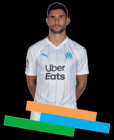 Álvaro González es uno de los jugadores españoles en la liga francesa 2019-2020.