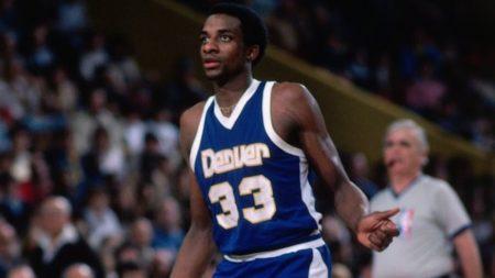 David Thompson es uno de los jugadores con más puntos en un partido de la NBA.