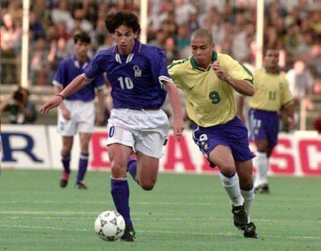 Demetrio Albertini fue uno de los mejores centrocampistas italianos de los 90.