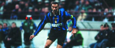 Giuseppe Bergomi fue uno de los mejores jugadores italianos de los 90.