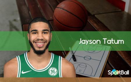 Jayson Tatum es uno de los jugadores revelación de la NBA 2020