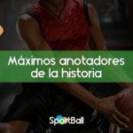 Máximos anotadores NBA de la historia actualizado