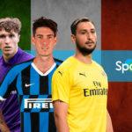 Las mayores promesas del fútbol italiano