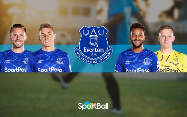 Plantilla del Everton 2019-2020