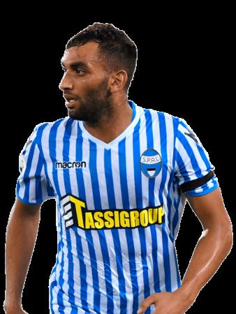Plantilla del SPAL 2019-2020 - Mohamed Fares