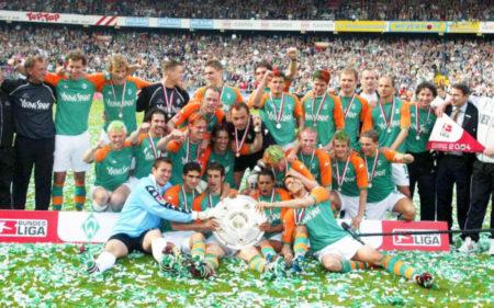 Recordando al Werder Bremen campeón de la Bundesliga 2003-2004.