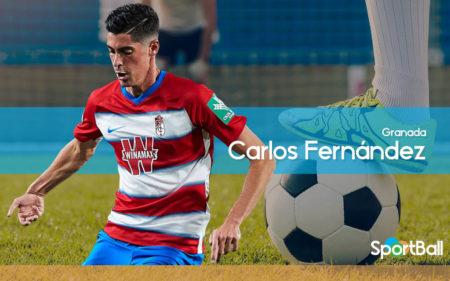 Carlos Fernández está triunfando en el Granada cedido por el Sevilla.