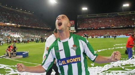Dani Martin, el héroe del Real Betis 2004-2005 Campeón de Copa del Rey.