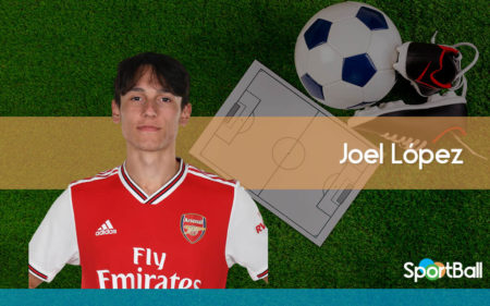 Joel López es uno de los mejores jugadores jóvenes del Arsenal.
