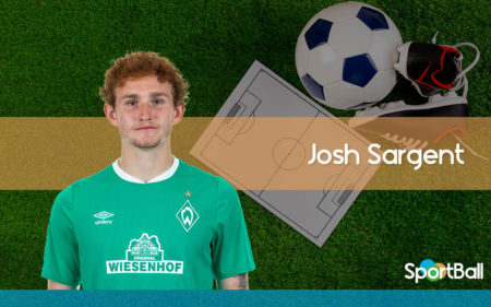 Josh Sargent es uno de los mejores delanteros jóvenes de Estados Unidos.