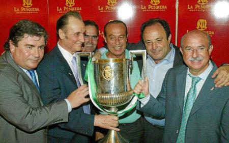 Lorenzo Serra Ferrer, el guía del Real Betis 2004-2005 Campeón de Copa del Rey.