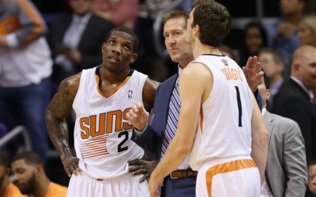 Eric Bledsoe y Goran Dragic en los Phoenix Suns 2013-2014