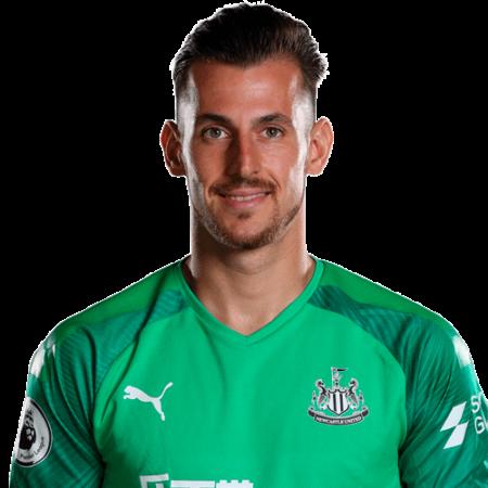 Plantilla del Newcastle United 2019-2020 - Martin Dubravka