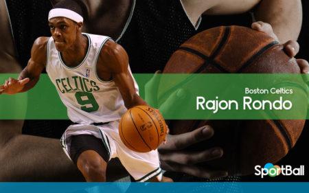 Rajon Rondo es uno de los máximos asistentes de la historia de la NBA