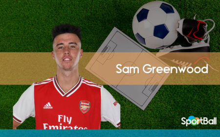 Sam Greenwood es uno de los mejores delanteros jóvenes del Arsenal.