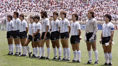 Selección de Argentina 1986 Campeona del Mundo