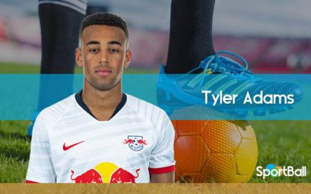 Tyler Adams es uno de los mejores centrocampistas jóvenes de Estados Unidos.