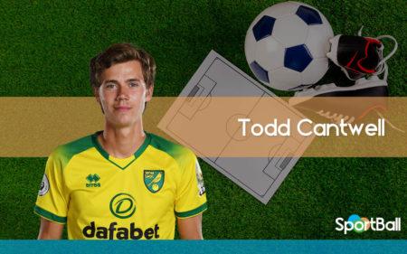 Todd Cantwell es interior izquierdo, aunque puede ser alineado como mediapunta.