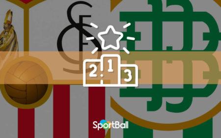 El mejor Real Betis contra el mejor Sevilla: sus 11 ideales desde 2001
