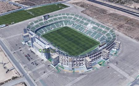 Estadios de la EURO. Manuel Martínez Valero