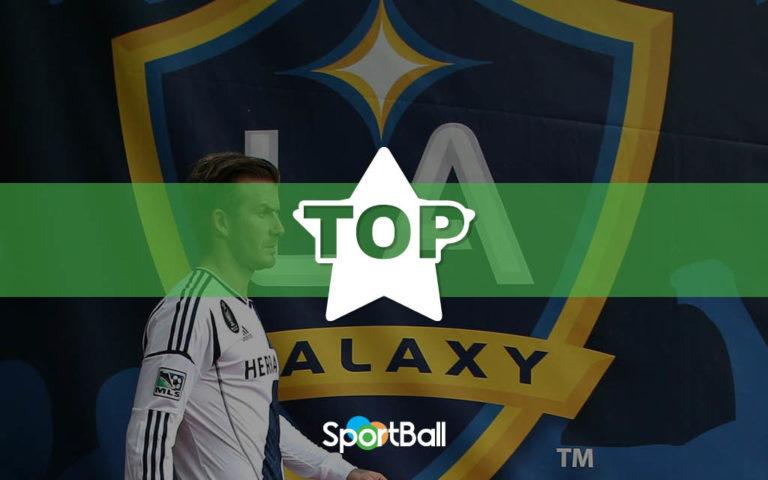 Las figuras mundiales que jugaron en el Galaxy de la MLS