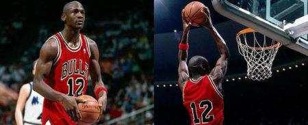 ¿Por qué jugo Michael Jordan con el dorsal 12?