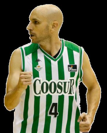 Albert Oliver es uno de los jugadores del Coosur Real Betis 2020-2021