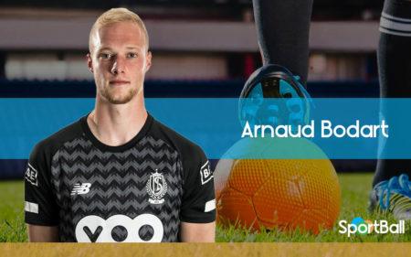Arnaud Bodart es uno de los mejores porteros jóvenes belgas