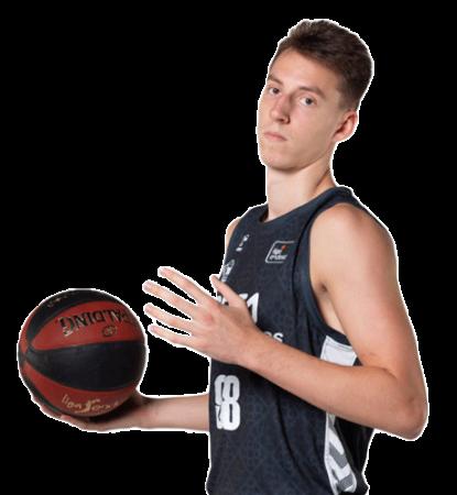 Arnoldas Kulboka es uno de los jugadores del Bilbao Basket 2020-2021