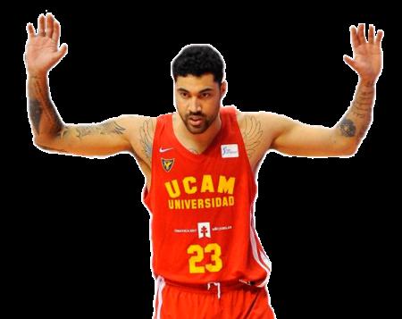 Augusto Lima es uno de los jugadores del UCAM Murcia 2020-2021