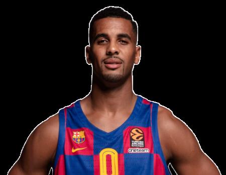 Brandon Davies es uno de los pívots del Barcelona Balonesto 2020-21