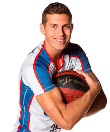 Chris Czerapowicz es uno de los jugadores del Obradoiro 2020-2021