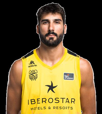 Dani Díez es uno de los jugadores del Iberostar Tenerife 2020-2021