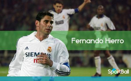 Fernando Hierro es uno de los centrales más goleadores de la historia