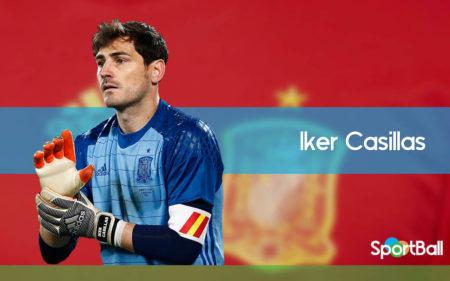 Iker Casillas es uno de los jugadores con más internacionalidades