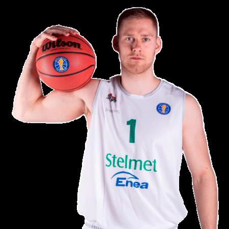 Jaroslaw Zyskowski es uno de los jugadores del Bilbao Basket 2020-2021